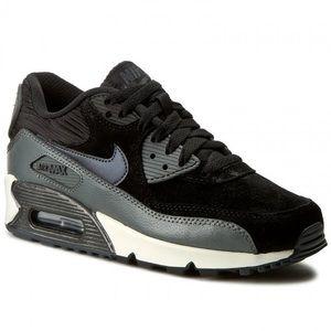 Nike Air Max 90 Suede Women's Running Sneakers